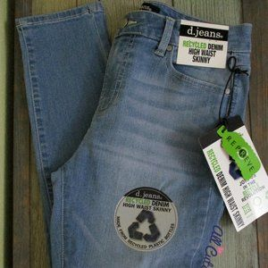 d.jeans Recycle Denim High Waist Skinny Si…